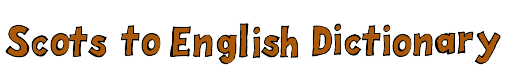 Scottish to English Dictionary